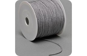 CORD ON REEL 100m SILVER-GREY